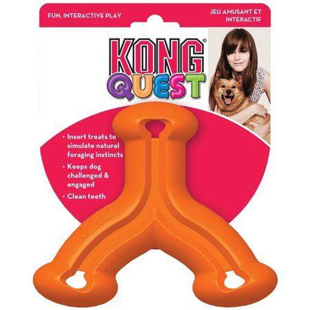Brinquedo Interativo Kong Quest Wishbone Small