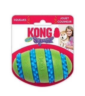 Brinquedo Interativo Kong Squeezz Goomz Football Ball MD