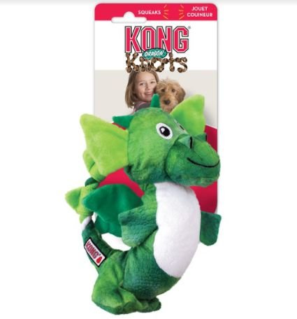 Brinquedo Pelúcia Kong Dragon Knots Assorted M/L