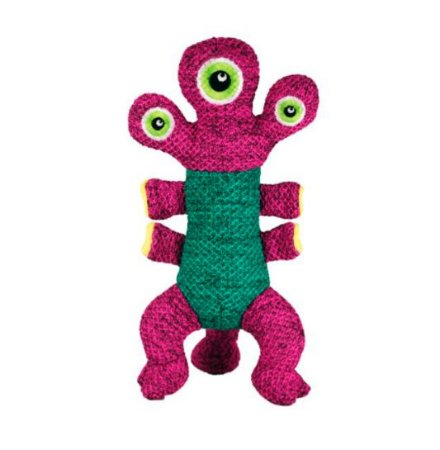 Brinquedo Pelúcia Kong Woozles Pink Medium