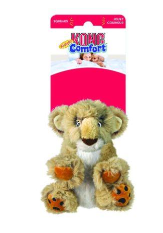 Brinquedo Pelúcia Kong Comfort Kiddos Lion Large