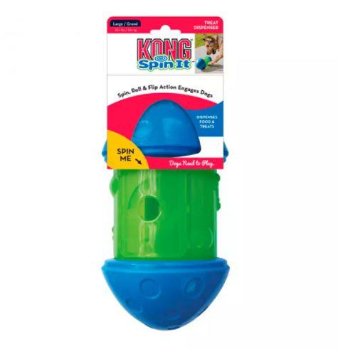 Brinquedo Interativo Kong Spin It Small