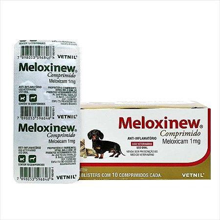 Anti-Inflamatório Meloxinew 1mg Blister 10 Comprimidos