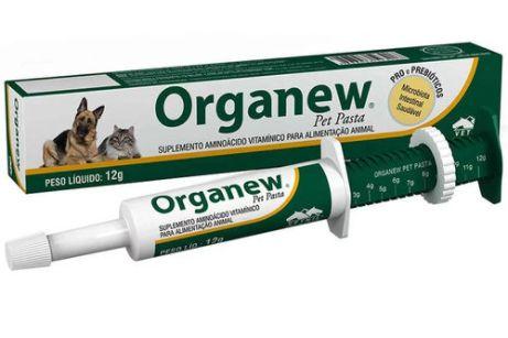 Suplemento Vitamínico Organew Pasta 12g