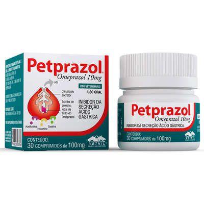 Inibidor de Secreção Ácido-Gástrica Petprazol 10mg