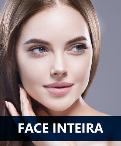 Depilação a laser Face inteira feminino