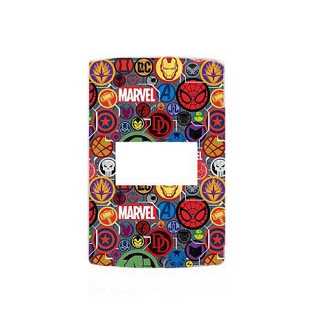 Adesivo Interruptor Marvel