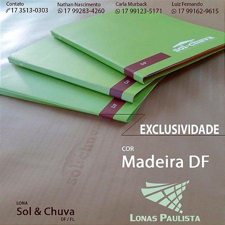 SOL & CHUVA DF 1400 MADEIRA - Valor por metro linear.