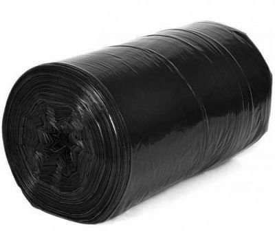 LONA PLASTICA PRETA 200 MICRAS 8M LARGURA - Valor por metro linear