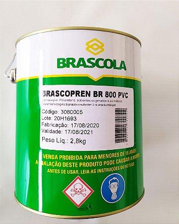 COLA BRASCOPREN BR 800 PVC 2,8KG - Unidade
