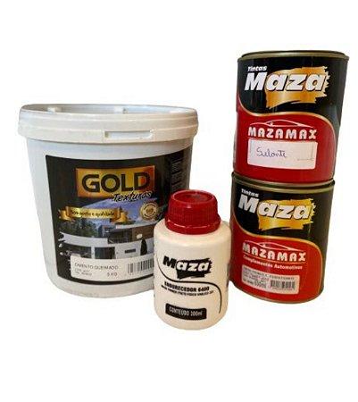 Cimento Queimado - FOSCO 5,0 kg. - KIT CHÃO/AZULEJO