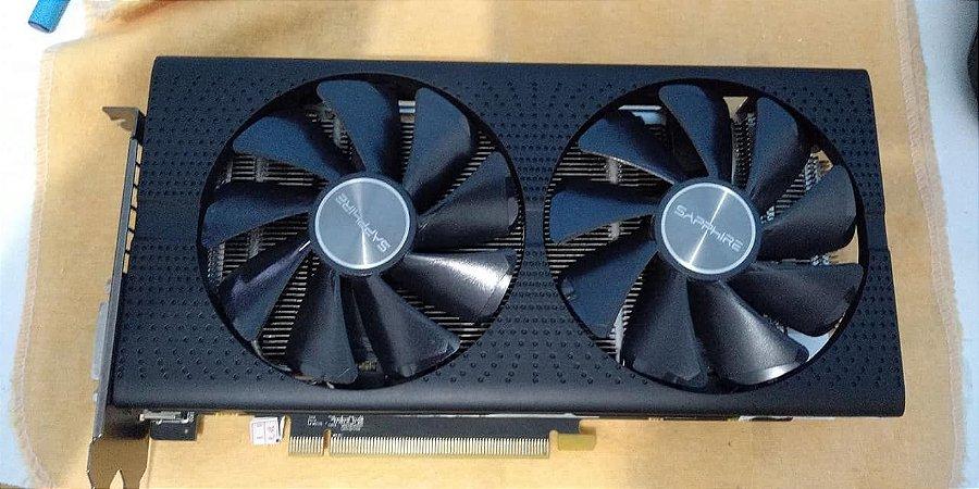 Placa de Vídeo Sapphire Pulse AMD Radeon RX 580 (USADA)