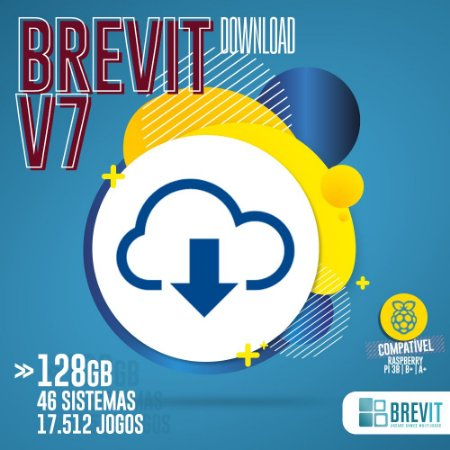 Sistema Brevit V7 128GB - Raspberry Pi 3 B e B+ - DOWNLOAD