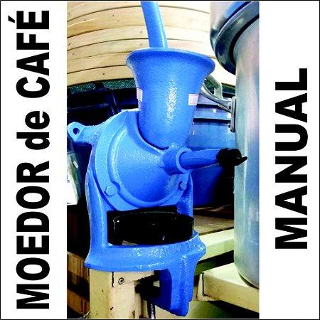 Moedor Moinho de Café Manual Mimoso Botini com Regulagem de Moagem