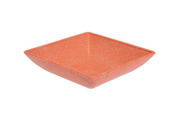 Mini Petisqueira Quadrada Coral - Evo