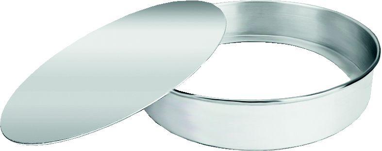 Forma Redonda Fundo Removível 24 cm - Luz Nobre