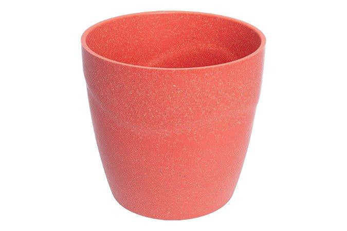 Vaso Cachepot 11x10,6 Coral - Evo