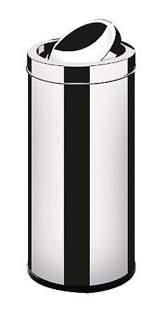 Lixeira em Aço Inox 9,1 L c/ tampa basculante - Martinazzo