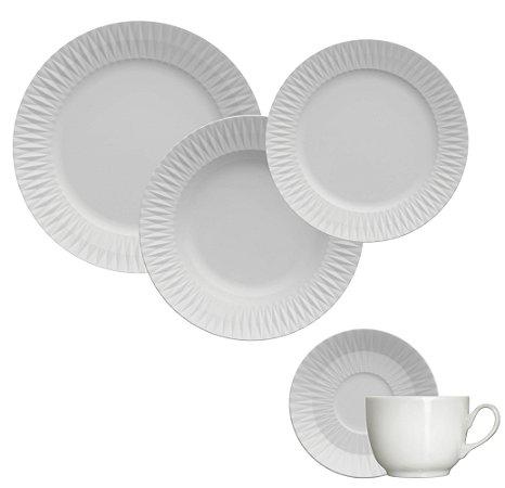 Kit de Jantar/Chá 5 peças - Diamante - Germer