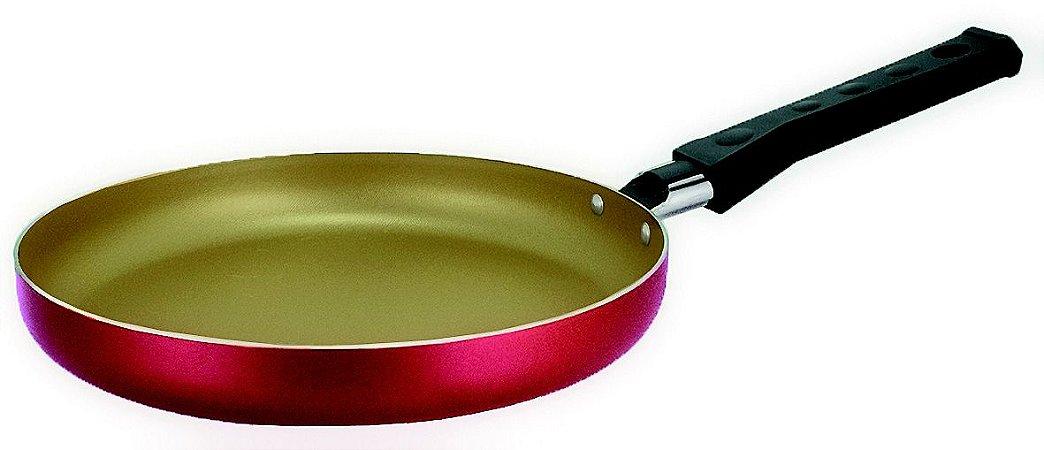Tapioqueira Antiaderente Cereja/ Creme 20 cm - 6 un