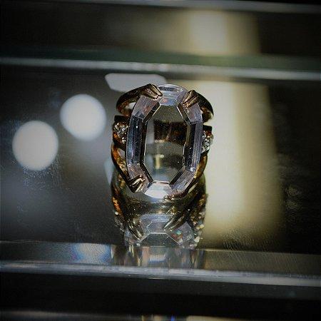 Anel Pedra Transparente
