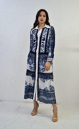 Vestido Longo Thamara Capelao