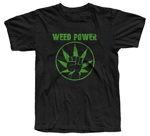 Camiseta Weed Power