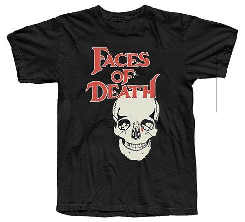 Camiseta Faces Da Morte