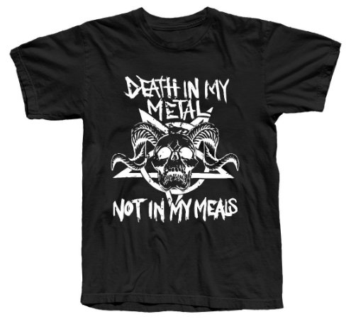 Camiseta Death In My Metal