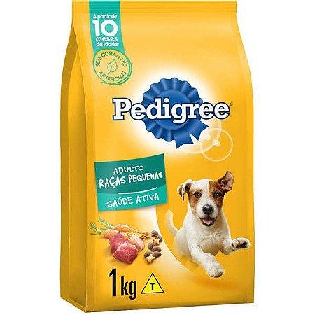 Pedigree Racão Cães Raças Pequenas 1KG