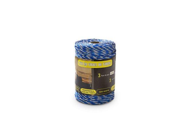 Zebu fio fibra de vidro para choque 200mts