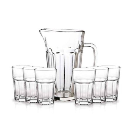 Class conjunto jarra mais 6 taças Casual Ref 1019