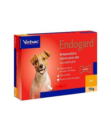 Virbac Endogard Vermífugo para Cães até 10KG C/ 2 Comprimidos