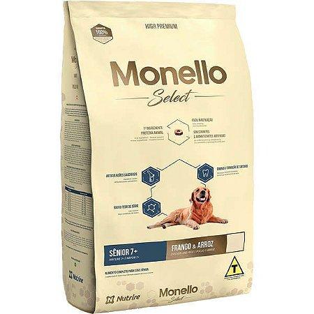 Monello Ração Select Dog 7+ Sênior 2KG