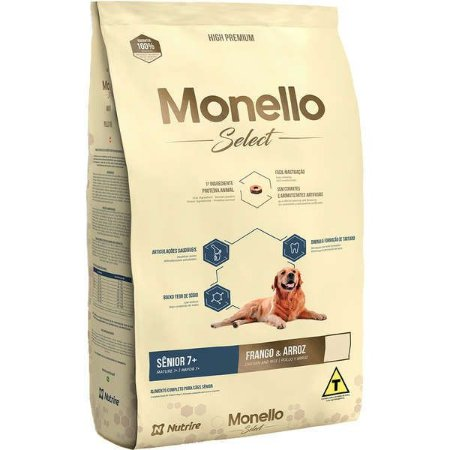 Monello Select  Ração Dog Senior 15KG