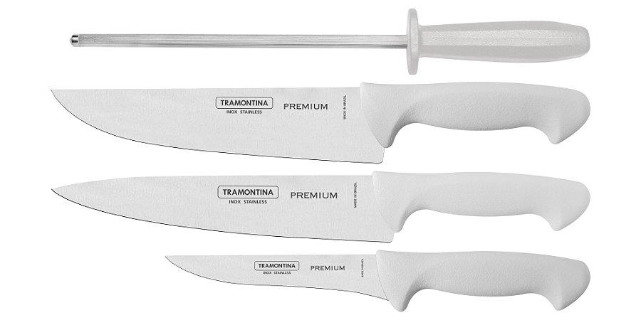Tramontina Conjunto de Facas Premium BR 4Pçs