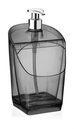 UZ Porta Detergente Translúcido Preto