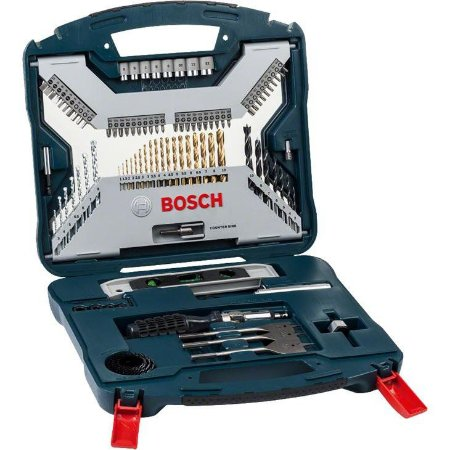 Bosch Jogo de Brocas X-Line Titanio 100Pçs