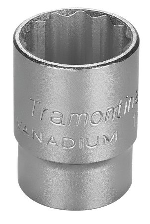 """Tramontina Soquete Estriado Pro 1/2"""" 25MM"""