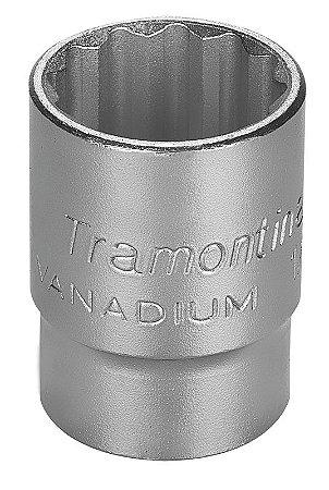 """Tramontina Soquete Estriado Pro 1/2"""" 23MM"""