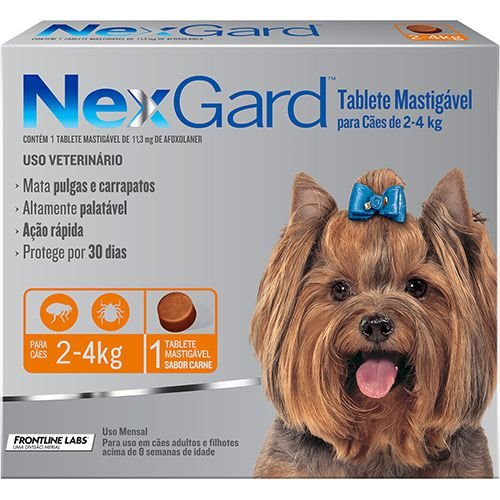 Nexgard P/ Cães 2 a 4KG