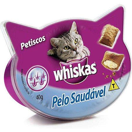 Whiskas Temptations Pelo Saudável 40GR