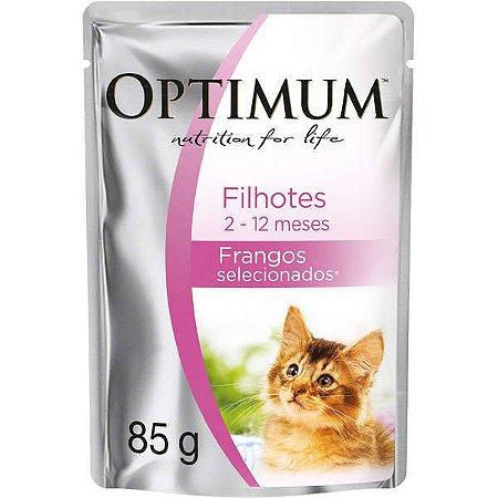 Optimum Cat Sachê Filhotes Frango 85G