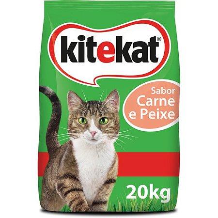 KiteKat Ração Gatos Carne e Peixe 20KG