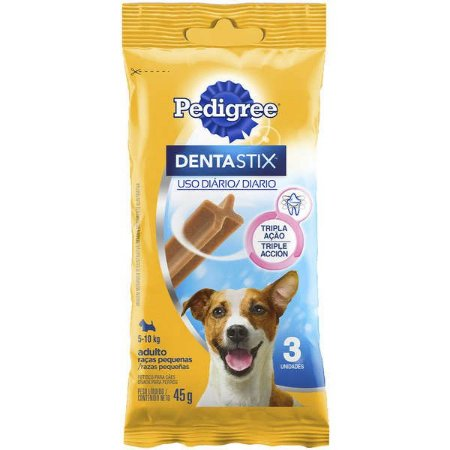 Pedigree Dentastix Adulto Raças Pequenas 3 Sticks 45G