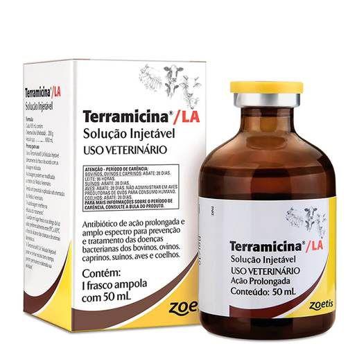 Terramicina®/LA Solucão Injetável 50mL