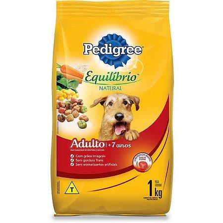 Pedigree Equilíbrio Natural Adulto Cães +7 Anos 1KG