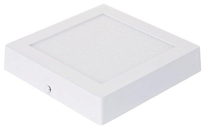 Cristallux Painel de Led Quadrado Sobrepor 24W