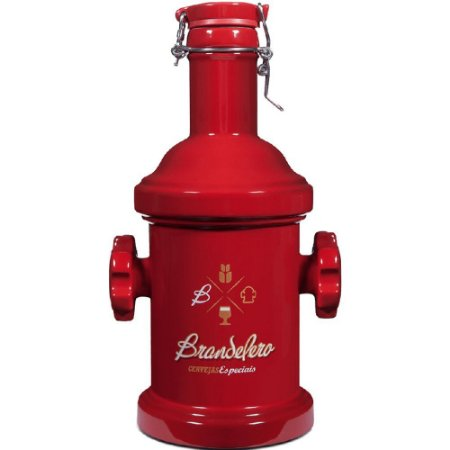Brandelero Growler Garrafão Hidrante Vermelho