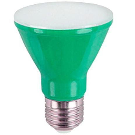 Kian Lâmpada Led PAR20 6W Luz Verde